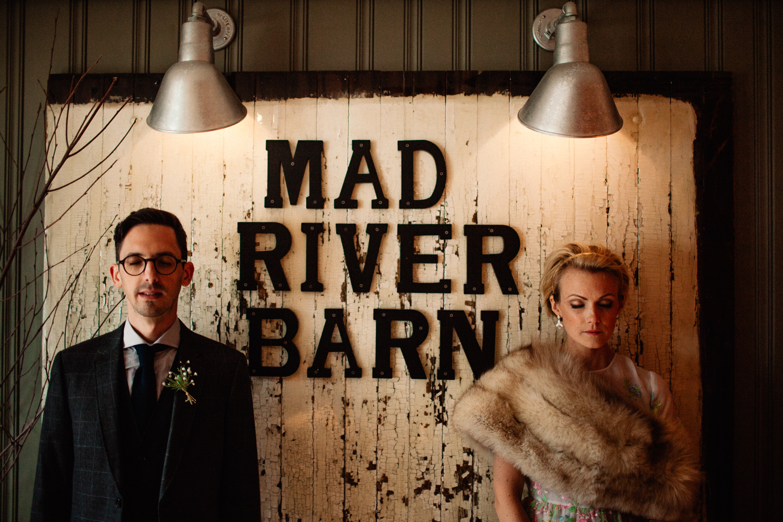Mad River Barn wedding