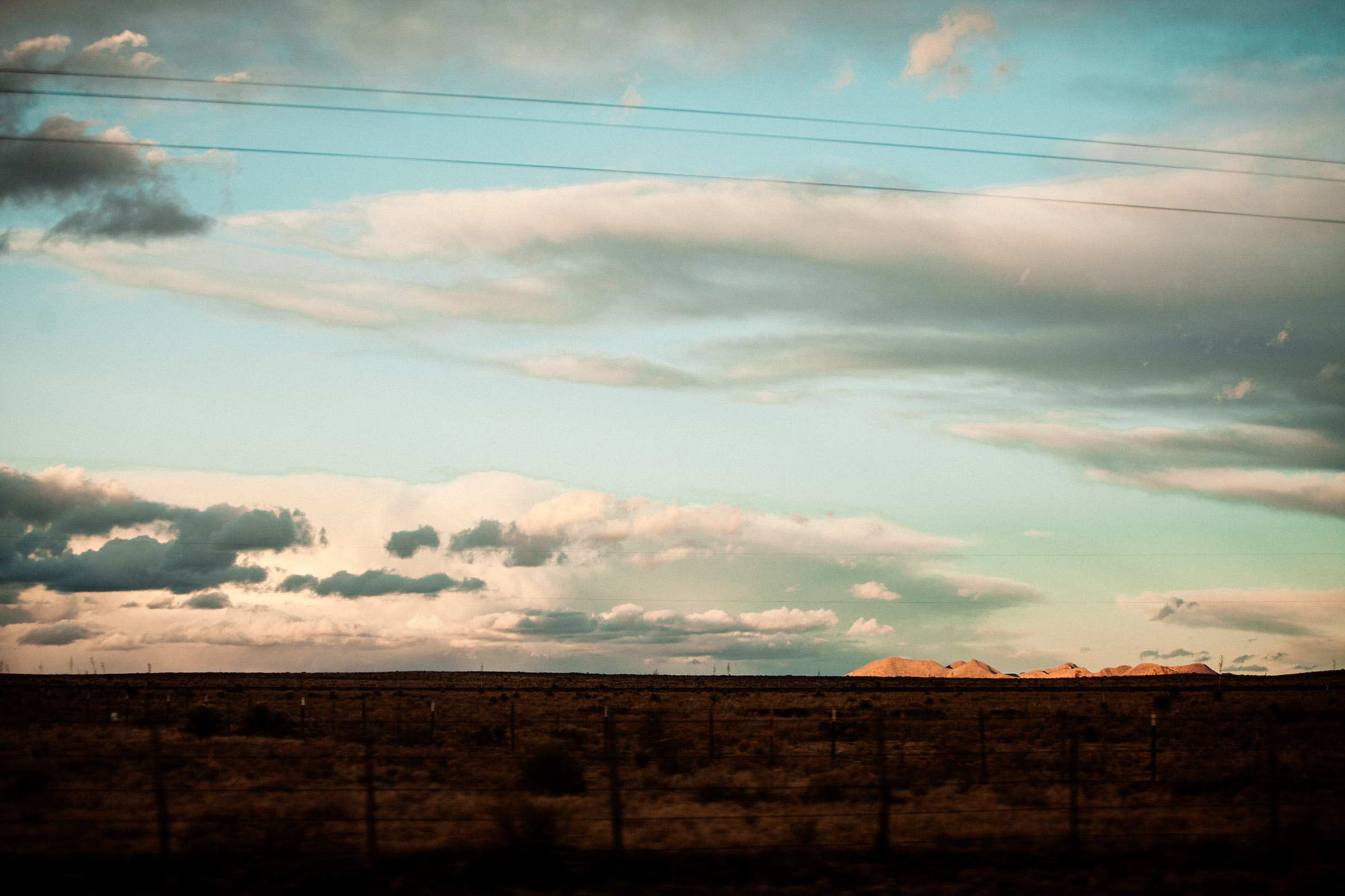 sunset in marfa texas