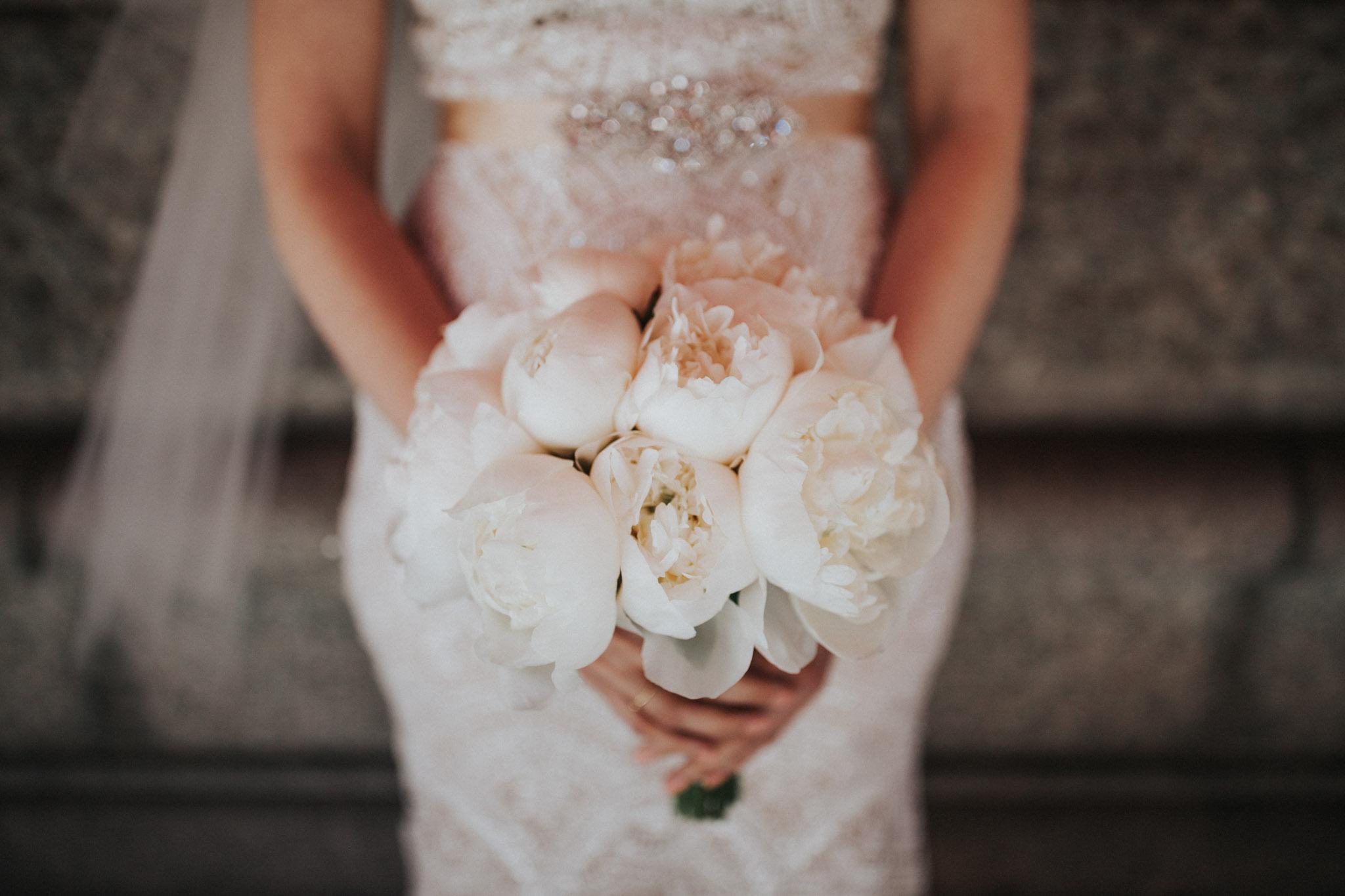 bridal bouquet in boston