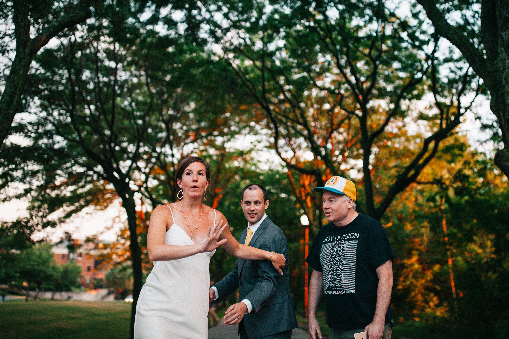 Mike Myers Wedding Photobomb