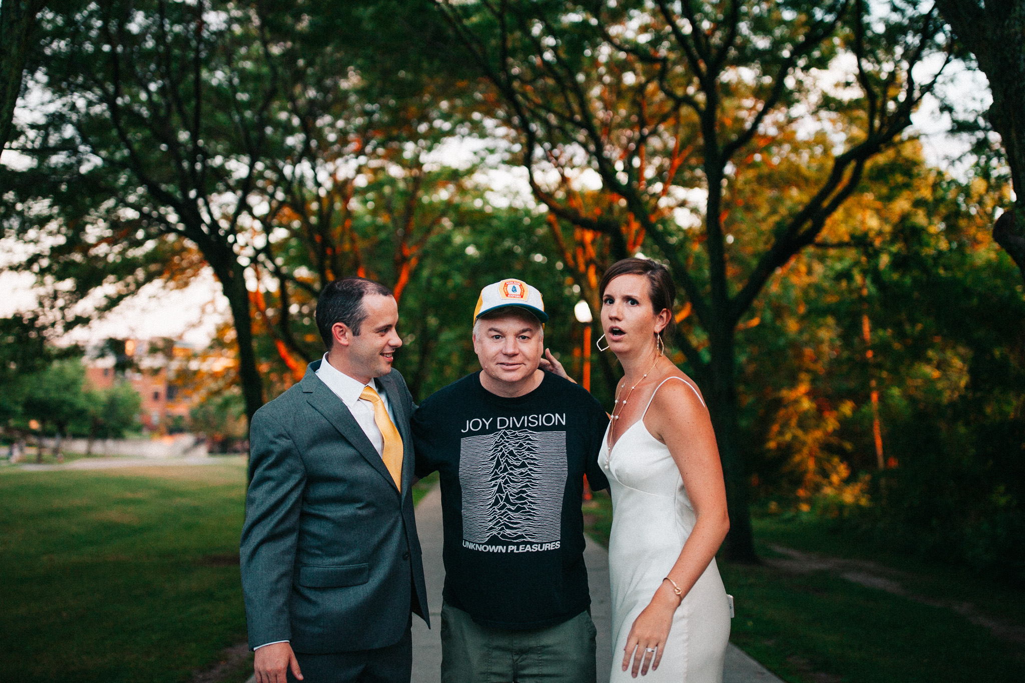 Mike Myers Wedding Photobomb-009