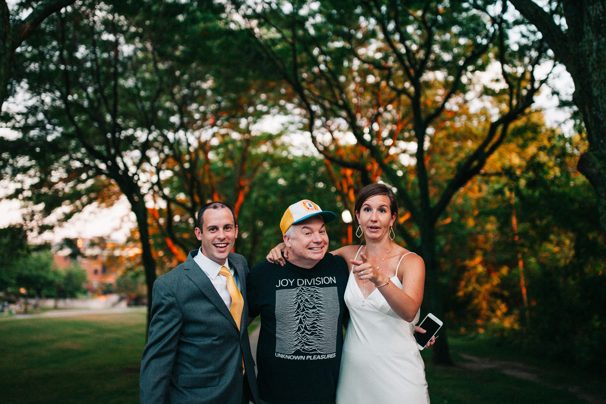Mike Myers Wedding Photobomb-010