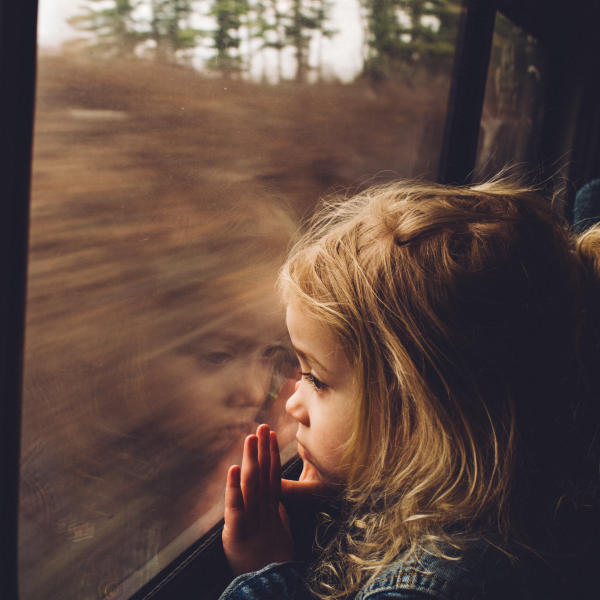 first time girl on train