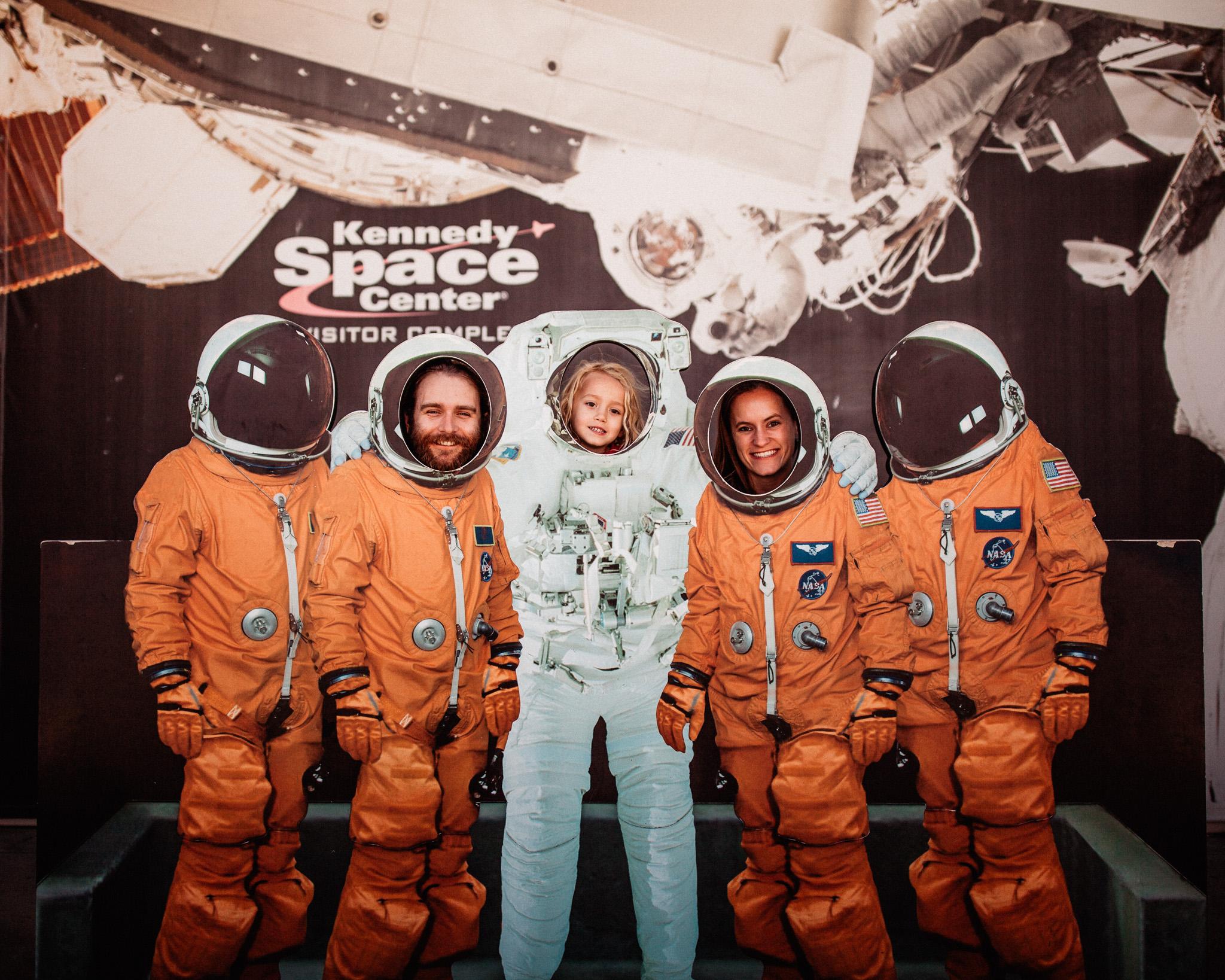the spragues astronauts