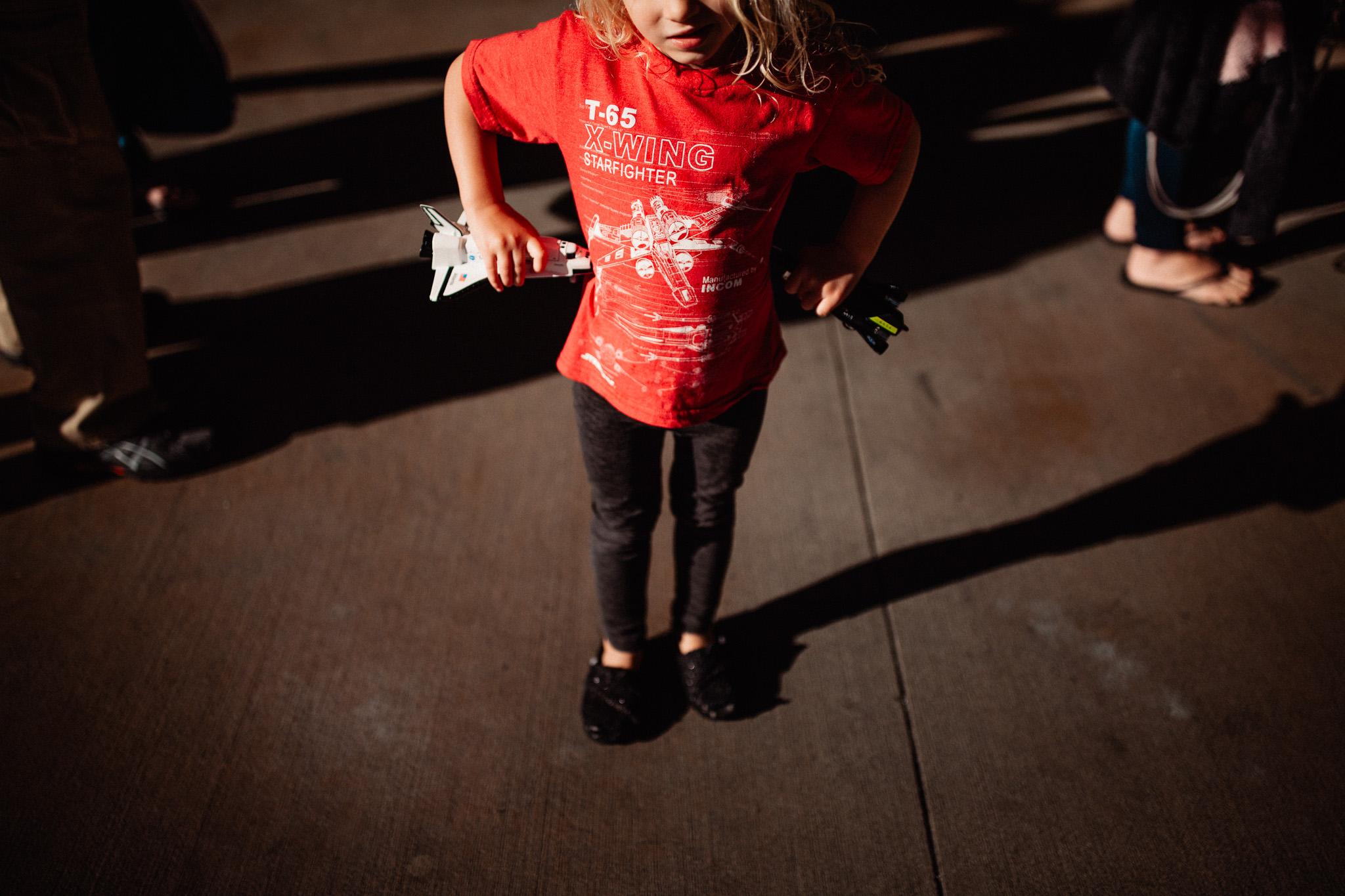little girl star wars nerd