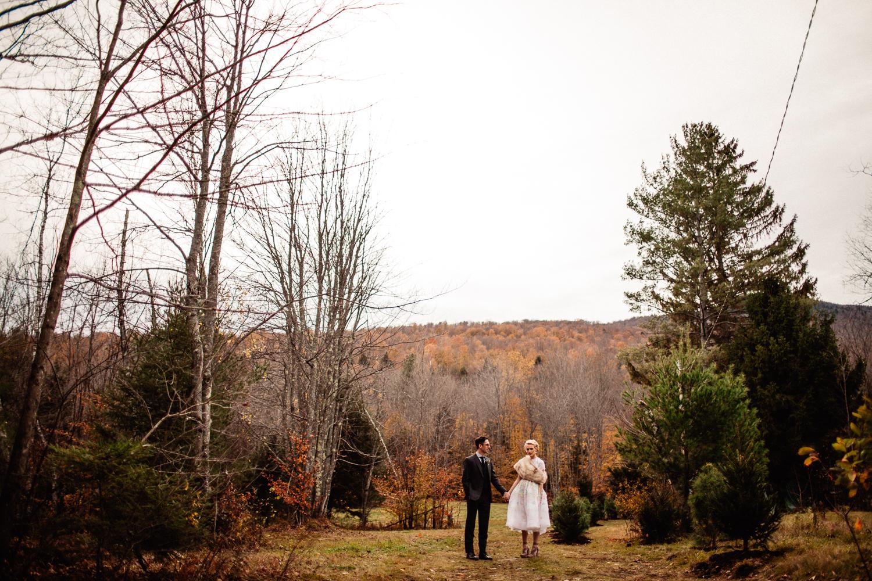 vermont wedding portrait