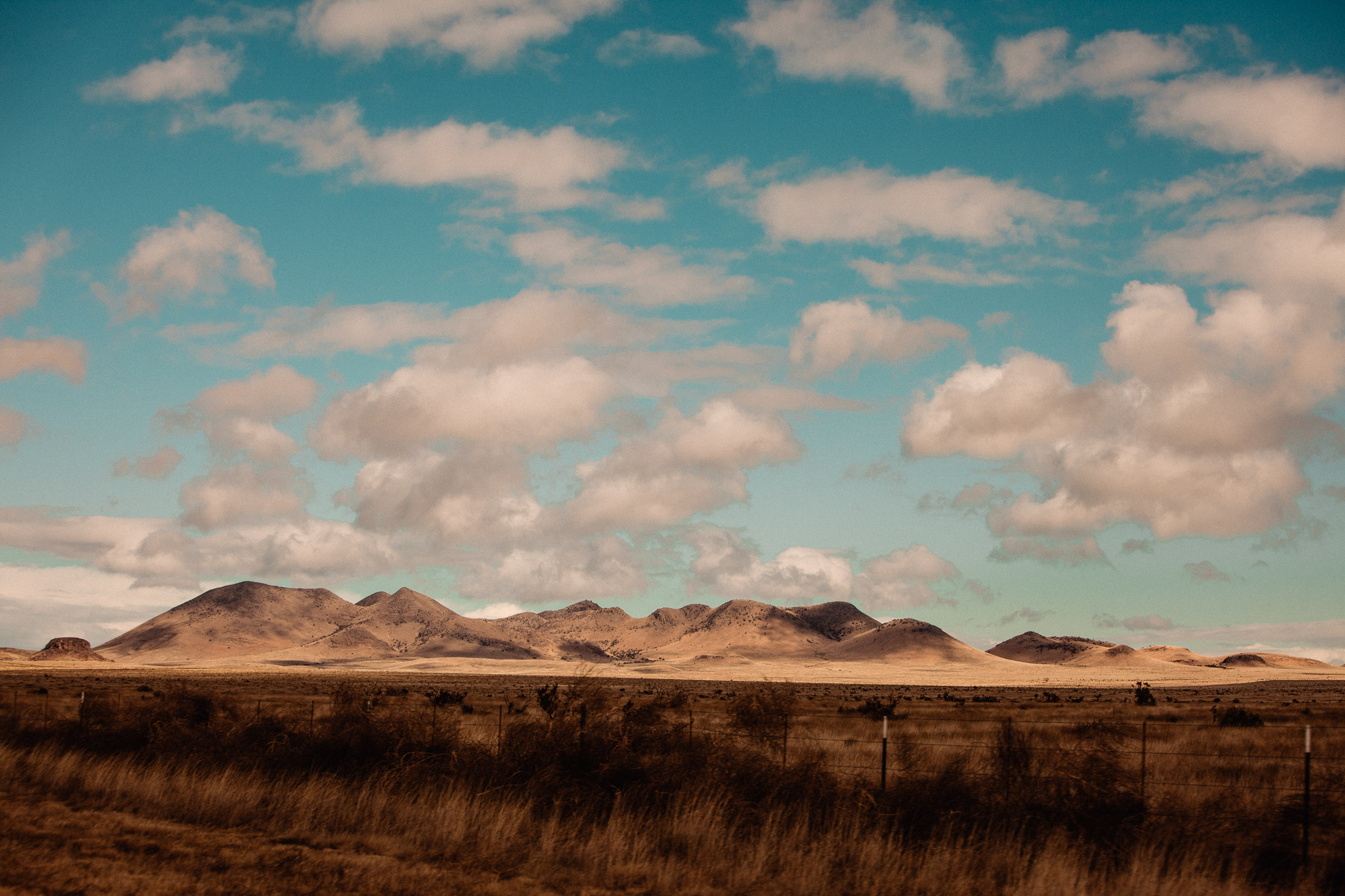 mountain range in marfa texas