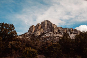 mountains in texas