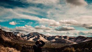 Texas Mountain Range Photo