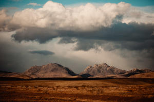 cloudy marfa texas sky