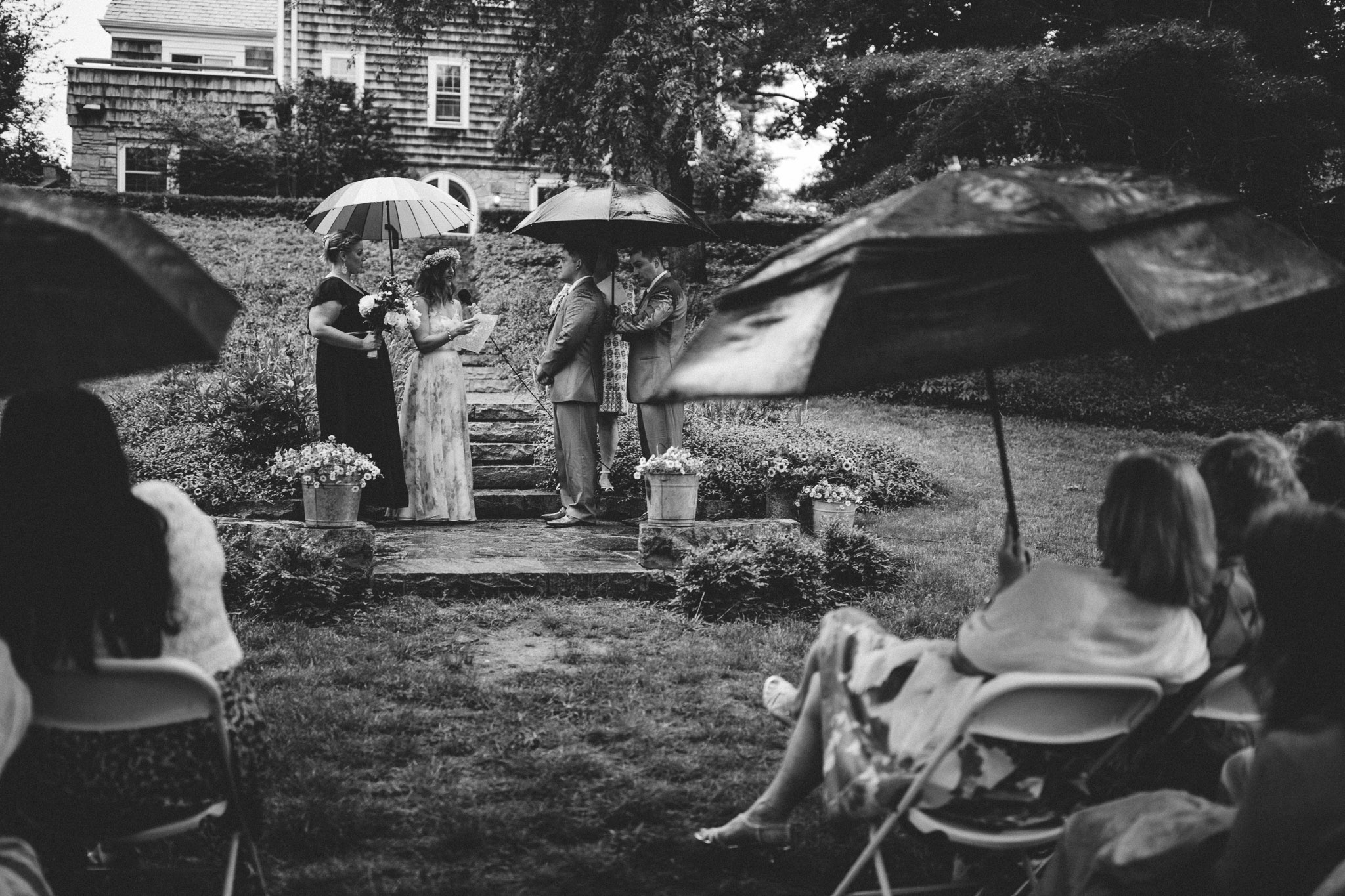 A Rainy Wedding Day in New England-15