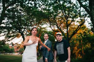 Mike Myers Wedding Photobomb-005