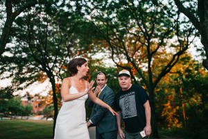 Mike Myers Wedding Photobomb-006