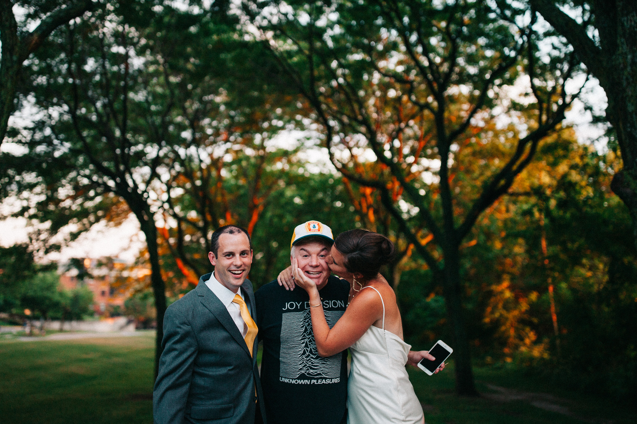Mike Myers Wedding Photobomb
