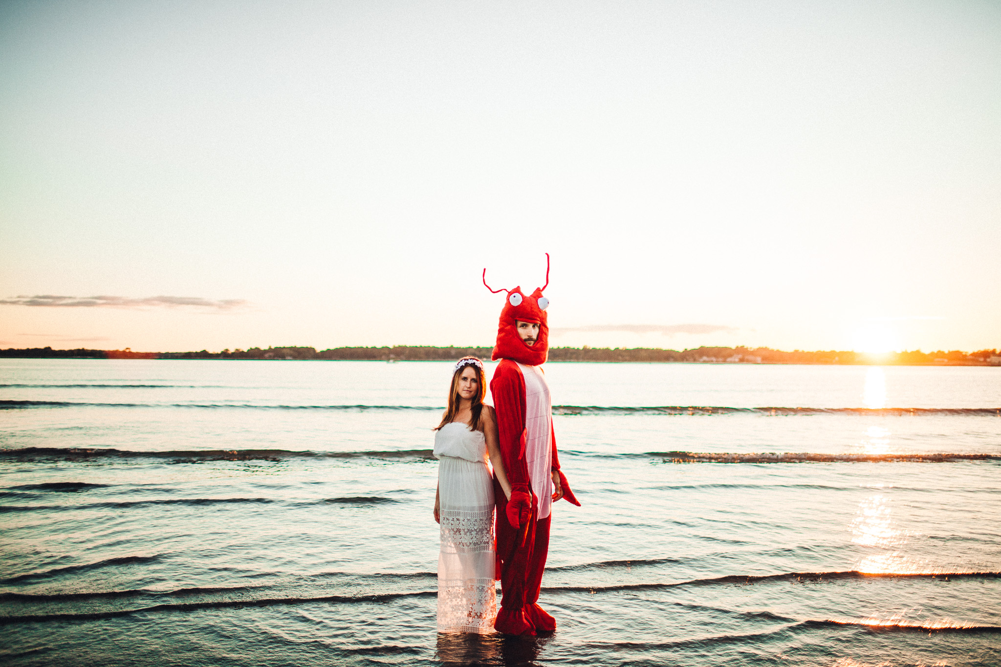 Fort Foster Engagement and a Lobster-012