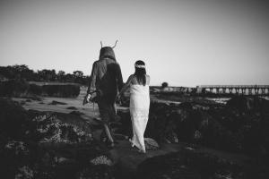 Fort Foster Engagement and a Lobster-014