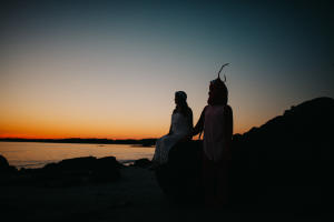 Fort Foster Engagement and a Lobster-015