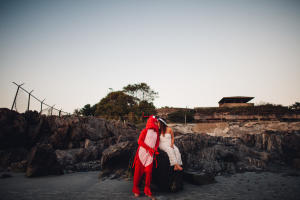 Fort Foster Engagement and a Lobster-016