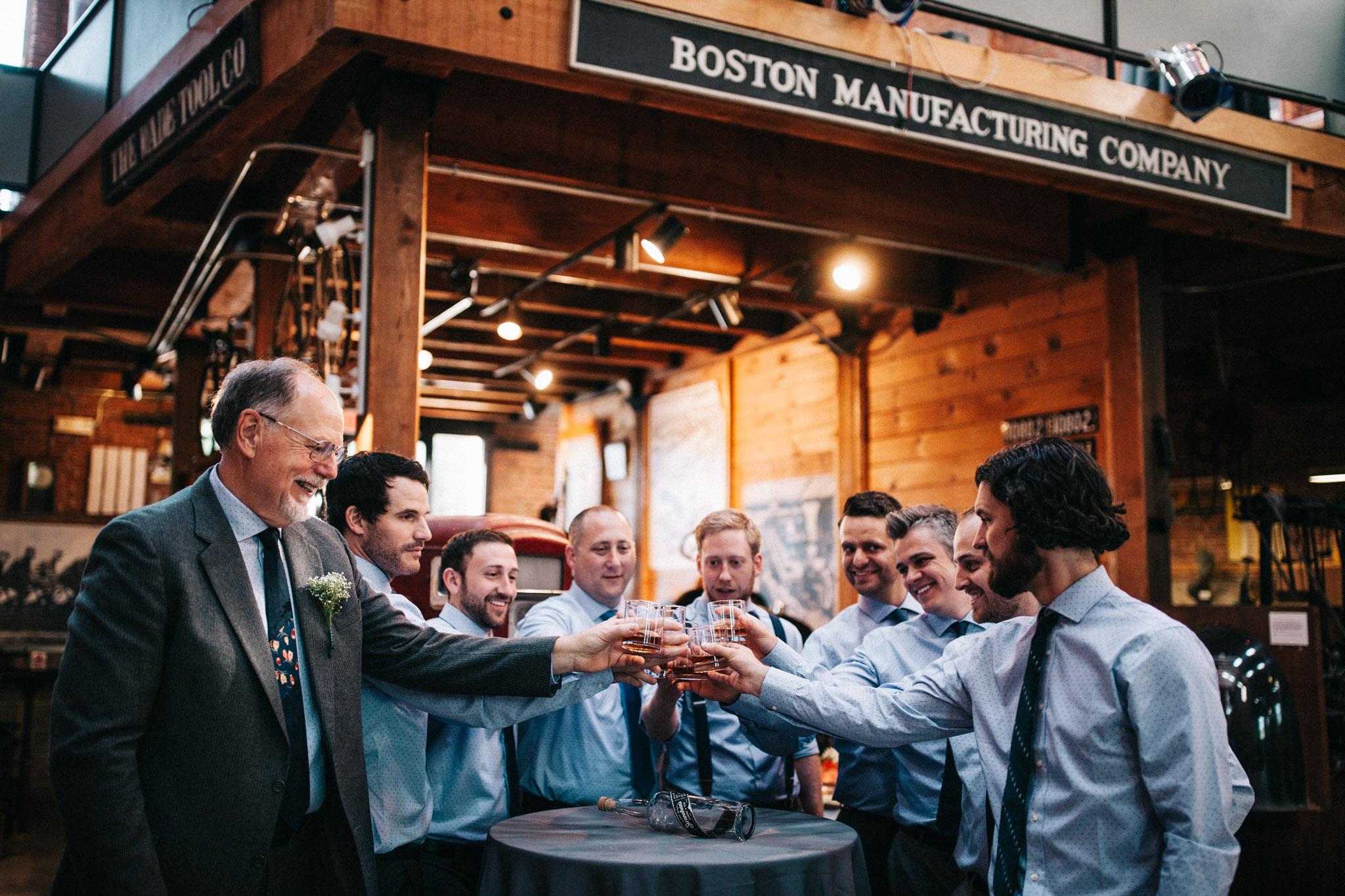 wedding whiskey shot