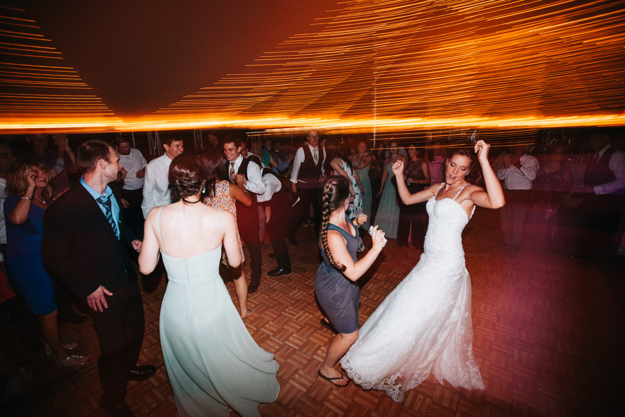 we always dance with our couples.